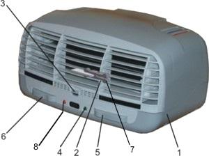 Воздухоочиститель Супер-Плюс-Турбо (Модель 2009)