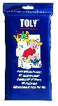 """Одноразовые покрытия на унитаз """"TOLY"""". 30 цветных покрытий в индивидуальной упаковке для детей."""